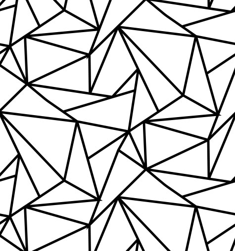 Linear Triangles Sample Pattern
