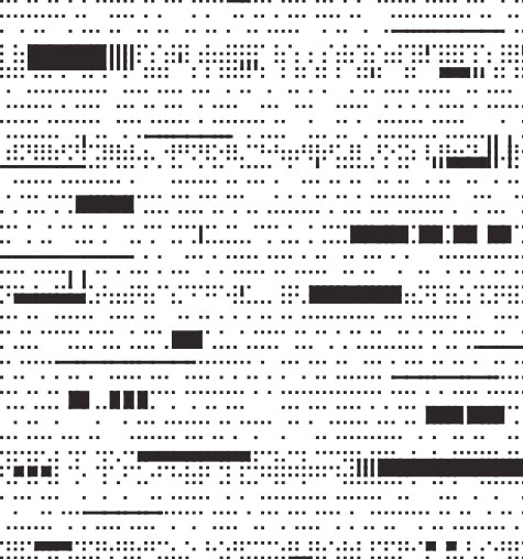 Punch Card Sample Pattern