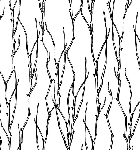 Twisted Branches Sample Pattern